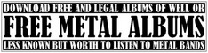 Free Metal Albums